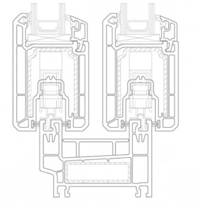 схема PVC плъзгане premiline