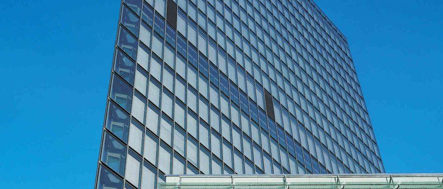 мащабен обект с Алуминиеви окачени фасади fasadi-Schüco FW 50+ FW 60+