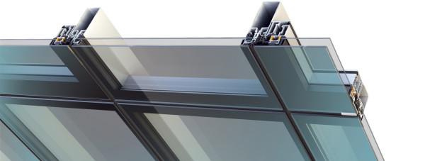 Алуминиеви окачени фасади Alumil M6