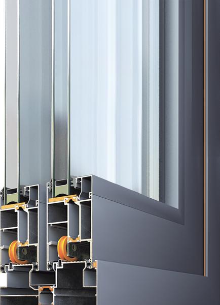 Плъзгане за алуминиеви прозорци Alumil M300 Falcon Alutherm