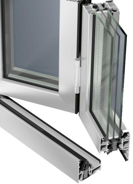 алуминиево плъзгане Schüco ASS 80 FD.HI