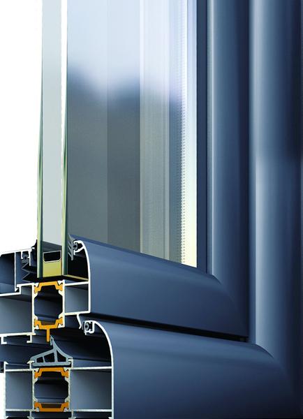 Алуминиеви входни врати - Alumil M11 000