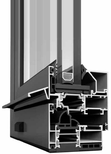 Алуминиева система за дограма ETEM E45