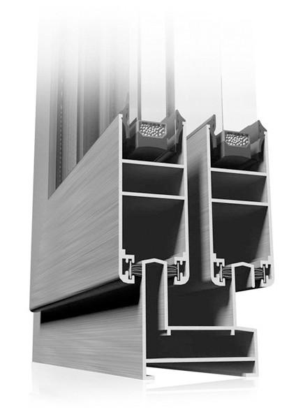 Etem E41 Система за Алуминиево плъзгане на прозорци