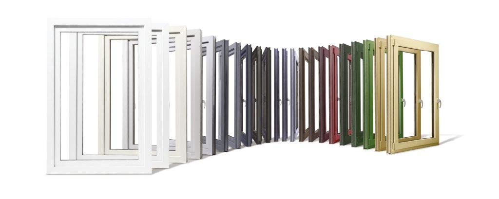 KOEMMERLING 76 - Цветова визуализация вурху пвц прозорци