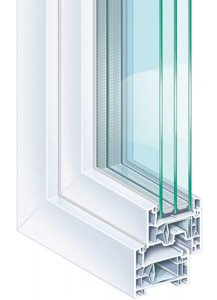 Система за Пвц прозорци и врати KÖMMERLING 76