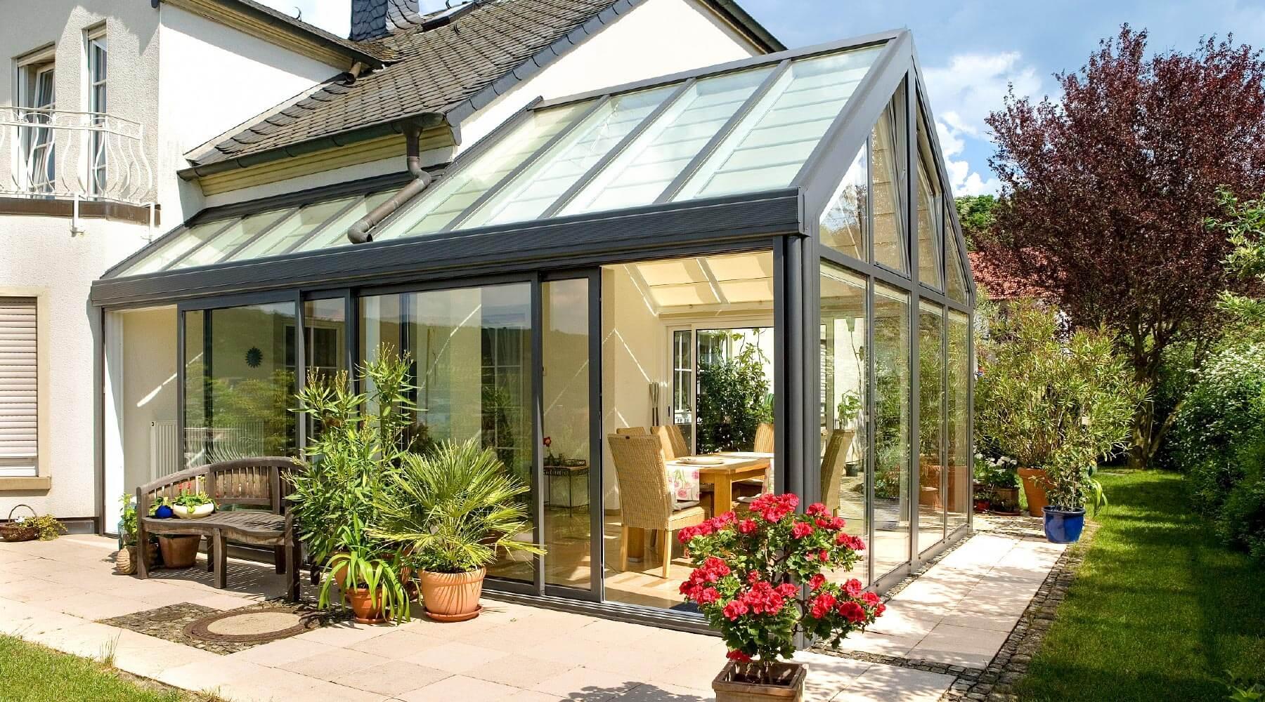 Зимна градина от Лукспласт - Елегантното бижу за вашия дом