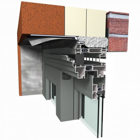 Reynaers CP 130 - висок клас Алуминиеви плъзгащи прозоречни системи