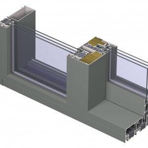 Reynaers-CP155 LS MINERGIE - профилни подобрения към системата