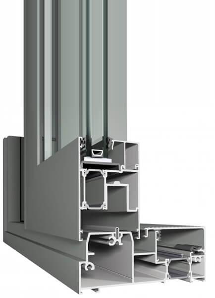 Reynaers CP155 - висок клас Алуминиеви плъзгащи прозоречни системи
