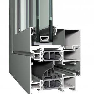 Reynaers CS 77 SP - профилни подобрения към системата