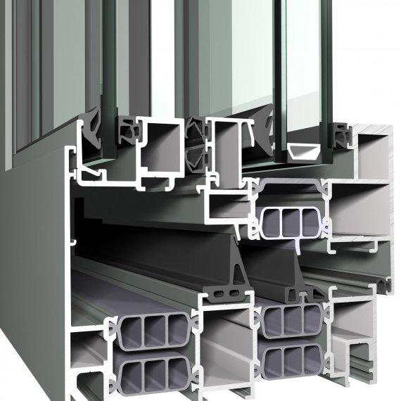 Reynaers CS 77 - висок клас Алуминиеви прозоречни системи