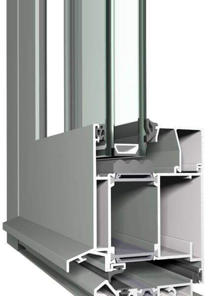 Reynaers CS 86-HI - система за алуминиеви врати