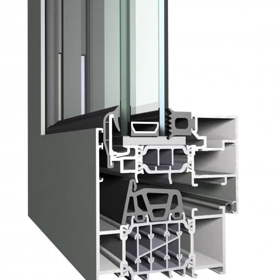 Reynaers CS86 HI - висок клас Алуминиеви прозоречни системи