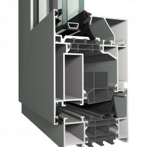 Reynaers MASTERLINE 8 система за алуминиеви врати