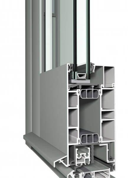 Reynaers cs77 - система за алуминиеви врати