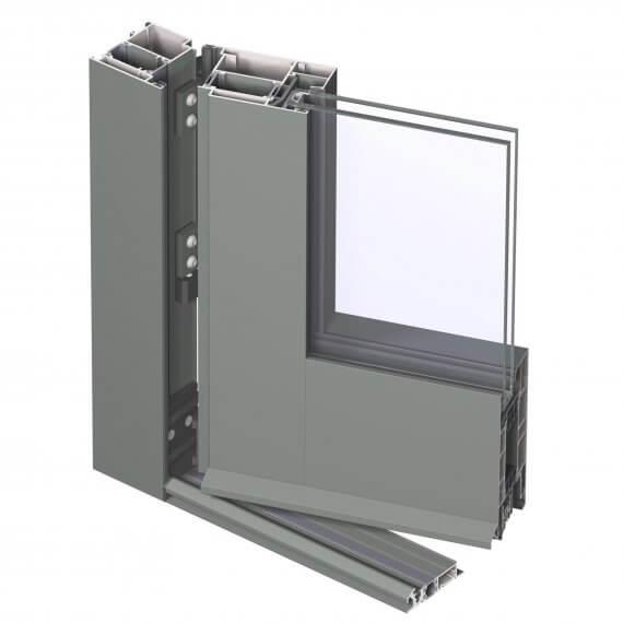 Reynaers CS 77 - система за алуминиеви врати