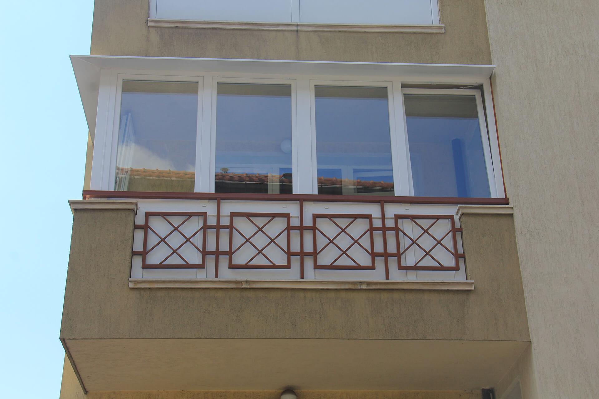 Частен дом ж. к. Редута, оборудван с пвц прозоречни системи